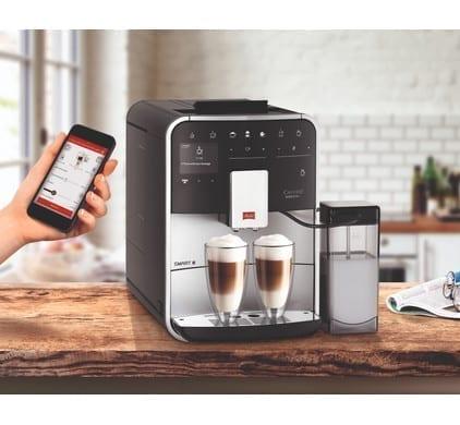 Melitta Barista T Smart® bedienen vanaf je smartphone