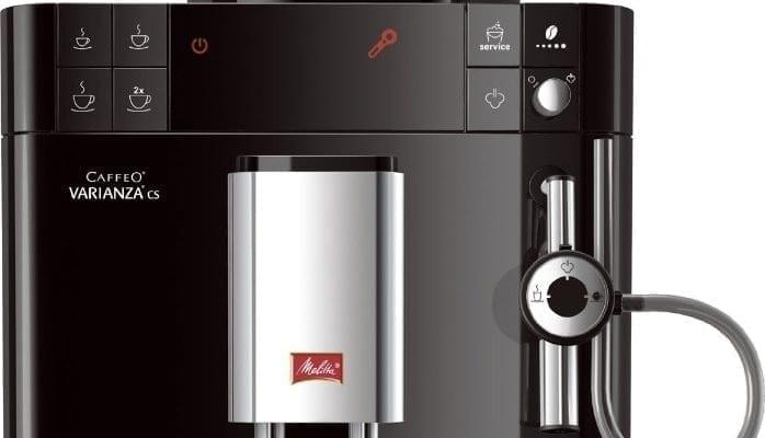 Melitta Caffeo® Varianza® CS bediening